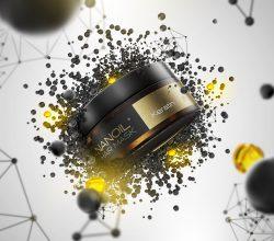 profesjonalna maska do włosów nanoil z keratyną